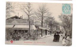 94 - Parc St MAUR - Place De La Gare - Très Animée - - 1912 (D19) - Saint Maur Des Fosses