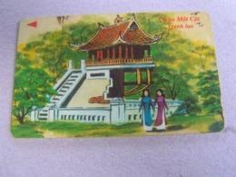 VIETNAM Used GPT Card,    8MVSB  Chia Mot Cot, Building - Vietnam