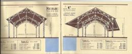 Martigné Briand - Brochure Publicitaire Années 1948/1950 - Hangars Agricole Cousin-Leduc - 8 Pages 16cm X 12cm - Autres Communes