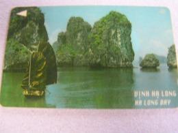 VIETNAM Used GPT Card   17VMCA Ha Long Bay, Rocks - Vietnam