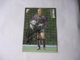 Football - Autographe - Carte Signée Andreas Kopke - Soccer