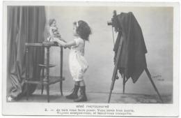 Bébé Photographe Poupée Je Vais Vous Faire Poser...Clayette Phot. - Fotografia