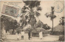 MAURITANIE UN VILLAGE BOZO CARTE - Mauritania