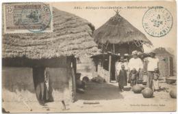 MAURITANIE HABITATAION INDIGENE  CARTE - Mauritania
