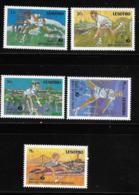 Lesotho 1988 Tennis Champions Sports MNH - Lesotho (1966-...)