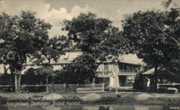 GOVERNMENT HOUSE FROM CARMICHAEL STREET GEORGETOWN  BRITISH GUIANA GUYANE BRITANNIQUE GUAYANA - Postales