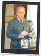 BELGIQUE COB 2840 SUR CARTE MAXIMUM  1999 , ROI ALBERT II. (3CF99) - Maximum Cards
