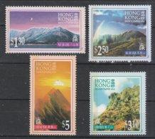Hong Kong 1996 Scott 752-5 Mountains MNH** - Nuevos