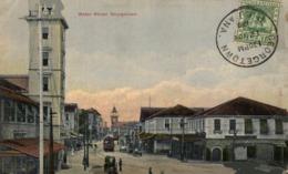 WATER STREET 1910  GEORGETOWN  BRITISH GUIANA GUYANE BRITANNIQUE GUAYANA SEE CORNERS SCAN - Postales