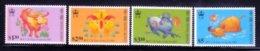 Hong Kong 1997 Scott 780-3 Year Of The Ox MNH** - Nuevos