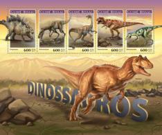 Guinea Bissau  2017   Dinosaurs - Guinea-Bissau