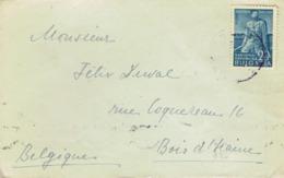 Letter From Sofia, Bulgaria To Belgium, 16/2/1950 - Cartas