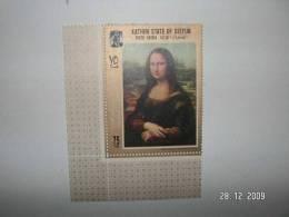 Aden Kathiri Seiyun, Painting By Leonardo Da Vinci, 1 Stamp- Nice Topical Stamp-MNH- SKRILL PAYMENT ONLY - Yemen