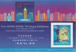 Hong Kong 1994 Stamp Exhibition Definitive Sheetlet MNH - Nuevos