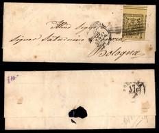 ANTICHI STATI ITALIANI - MODENA - Risorgimento - Cisappennino -  Modena (P.ti R1) - 15 Cent (3) Corto A Sinistra - Lette - Postzegels