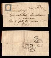 ANTICHI STATI ITALIANI - MODENA - Pievepelago (oleoso - P.ti 9) - 20 Cent (15D - Sardegna) Su Lettera Per Cecina Del 26. - Postzegels
