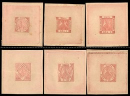 ANTICHI STATI ITALIANI - NAPOLI - 1898 - Ristampe (R1/R6) - Serie Completa - Senza Gomma (1.500) - Postzegels