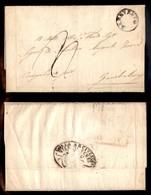 ANTICHI STATI ITALIANI - NAPOLI - Benevento - Lettera Dalla Curia Arcivescovile Per Gambatesa (Campobasso) Del 18.11.54  - Postzegels