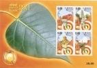 Miniature Sheet,Vesak 2011,Withdrawn Issue,Lumbini, Buddhagaya,Benares, Kusinara,Lord Buddha, Sri Lanka, Buddhism - Buddhism