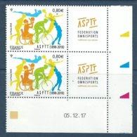 Coin Daté - ASPTT - Sports - Natation - Course - Basket - Cyclisme - Tennis - 2010-....