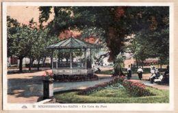 X67050 NIEDERBRONN Les BAINS Un Coin Du Parc Kiosque à Musique  Bas-Rhin 1929 à DOTT Strasbourg - CAP 27 Alsace - Niederbronn Les Bains