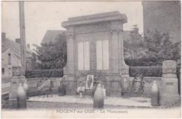 60. NOGENT-SUR-OISE. Le Monument - Nogent Sur Oise