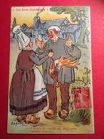 """Ces Bons Normands Illustrateur E.H Galry """" Cent Sous, A Ce Prix Là, C'est Bien .."""" - Autres Illustrateurs"""