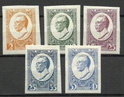 LETTLAND Latvia 1929 Michel 144 - 148 B * - Lettland