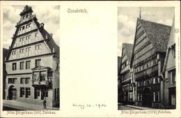 Cp Osnabrück In Niedersachsen, Altes Bürgerhaus - Germany