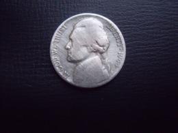 ETATS UNIS   =  PIECE DE 5 CENTS DE 1944 EN ARGENT - 1938-…: Jefferson