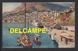 DD / MONACO / LE PORT ET LA CONDAMINE / ANIMÉE / 1925 - Harbor