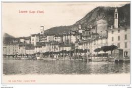 LOVERE:  LAGO  D' ISEO  -  VISIONE  PARZIALE  -  FP - Bergamo