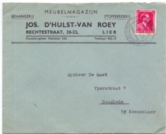 Omslag Enveloppe - Pub Reclame Meubelmagazijn Jos D'Hulst - Van Roey - Lier - Enveloppes