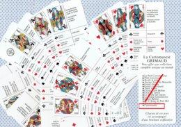 Jeu De 32 Cartes - CARTOMANTIC - La Cartomancie GRIMAUD - ( Tarot )  ( 4769 ) - Tarots