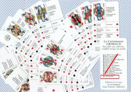 Jeu De 32 Cartes - CARTOMANTIC - La Cartomancie GRIMAUD - ( Tarot )  ( 4769 ) - Tarot-Karten