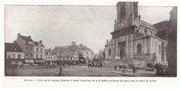 1924 - Iconographie - Bolbec (Seine-Maritime) - La Place De L'église - FRANCO DE PORT - Vecchi Documenti