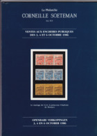 CATALOGUE DE VENTE SOETEMAN 9 Eme 10eme Et 11 Eme Avec Planches Photos Annotations Au Stylo Et Crayon - Catalogues For Auction Houses