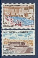 ST PIERRE N° 431/432 ** - Nuovi