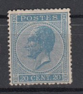 BELGIË - OPB - 1865/66 - Nr 18A  MOOI (+ 170% > Goede Centrage) - (*) - 1865-1866 Profile Left