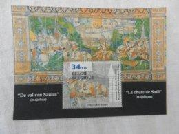 Planche De Timbres Neufs - Belgique - La Chute De Saül - 1996 - Panes