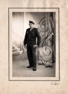 Pochette Photo Orig. Guerre D'Algérie 1954-1962 - Engagé Parachutiste Spano Jean De Henrichemont Studio & Béret - Queva - War, Military