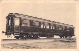 ¤¤   -  Chemin De Fer De Paris-Orléans  -  Voiture De 1ere Classe Avec Salon Fumoir Mise En Service En 1908 - Matériel
