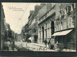 CPA - BOULOGNE SUR MER - La Rue Victor Hugo, Animé - Boulogne Sur Mer