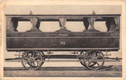 ¤¤   -   Chemin De Fer De Paris-Orléans  -  Voiture De 3e Classe Mise En Service En 1840  -  ¤¤ - Matériel