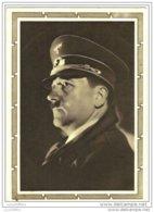 Nazisme - IIIè Reich - Portrait De Hitler - 2 Scans - Personaggi