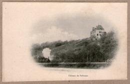 36 / CIRON - Train à Vapeur Au Pied Du Château De Pelbuzan (ligne Le Blanc - Argenton) Pellebuzan - Francia