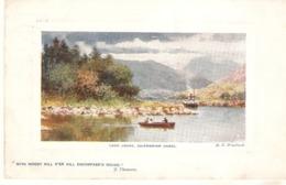 """H.B.Wimbush. Loch Lochy And Caledonian Canal Tuck Oilette Platemarked  The Scottish Highlans Ser.PC# 9731 - Tuck, Raphael"