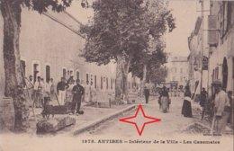 ANTIBES.  Intérieur De La Ville. Les CASEMATES. - Antibes