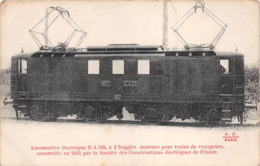 ¤¤  -   Les Locomotives Françaises  -   Locomotives Electrique  E. 4.103 à 2 Boggies Du MIDI - Matériel