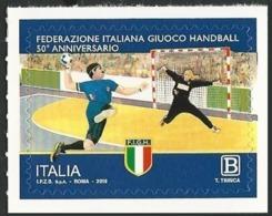 Italia Italy (2019) 50° Anniversario Federazione Italiana Giuoco Handball / Pallamano - Single Stamp (MNH) - Balonmano